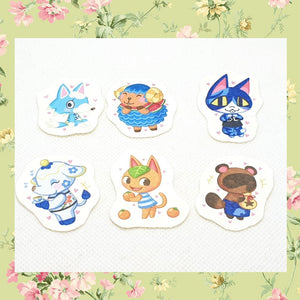 Animal Crossing Sticker Sets