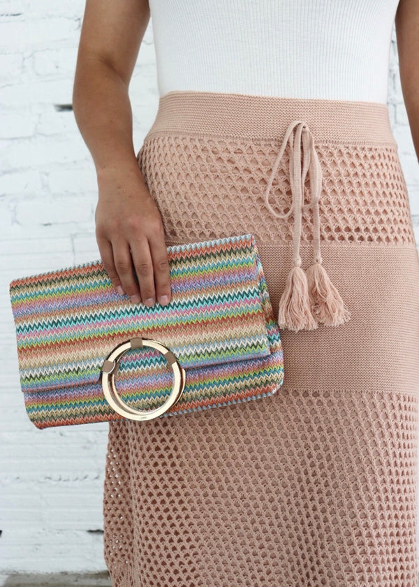 Scarlett Multi Color Clutch