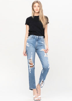 Front Row Super High Rise Jeans