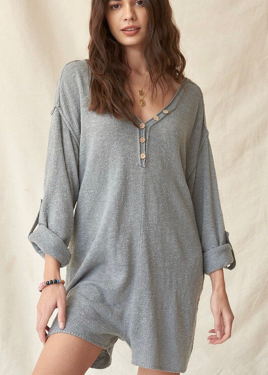 Your Best Adventure Oversized Romper