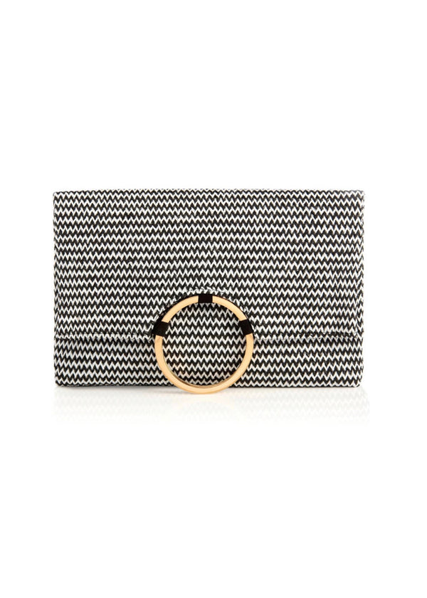 Scarlett Black Clutch