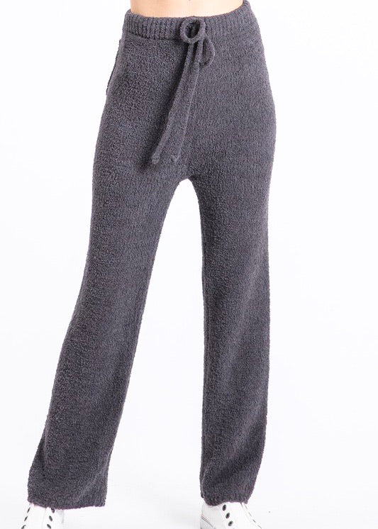 Lazy Day Plush Knit Lounge Pant