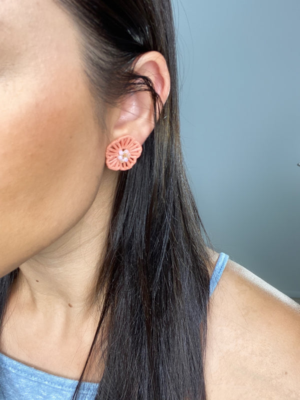 Feeling Peachy Earrings