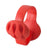 [Red] Set Of 2 Desktop Cord Holder Wires Cable Organizer Cable Clips