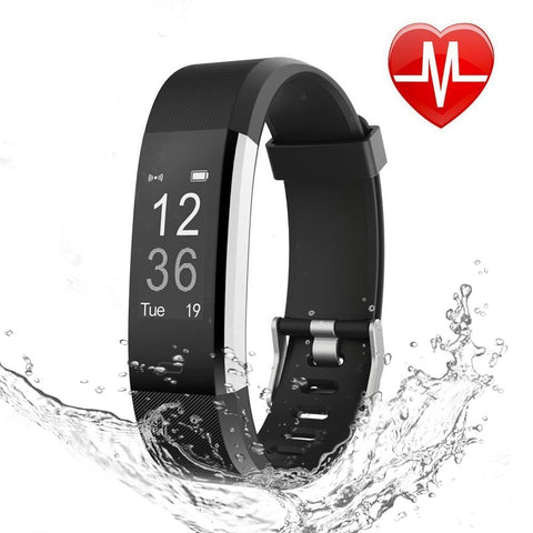 Image of Waterproof Fitness Tracker Watch