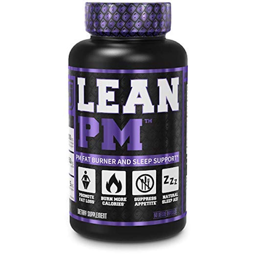 LEAN PM Night Time Fat Burner, Sleep Aid Supplement, & Appetite Suppressant - 60 Stimulant-Free Veggie Weight Loss Diet Pills
