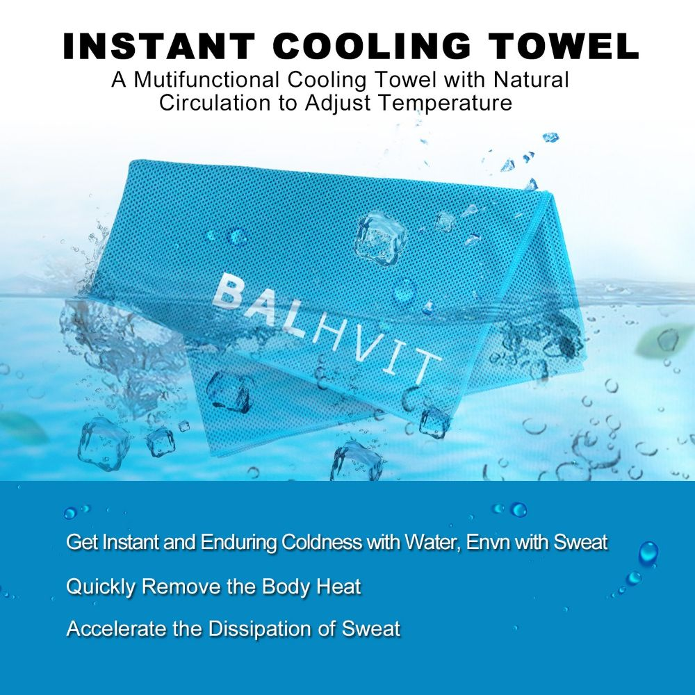 Instant Relief Cooling Towel