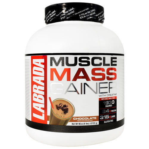 Labrada Nutrition MUSCLE MASS GAINER Chocolate - Gluten Free