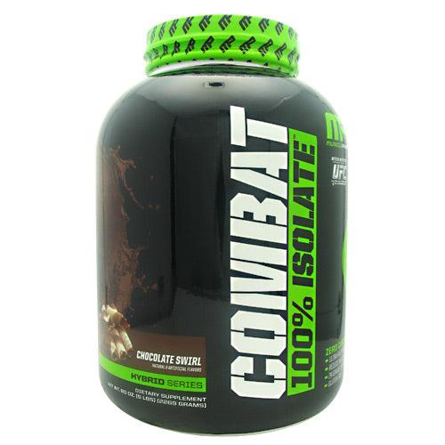 MusclePharm Hybrid Series Combat 100% Isolate Chocolate Swirl - Gluten Free