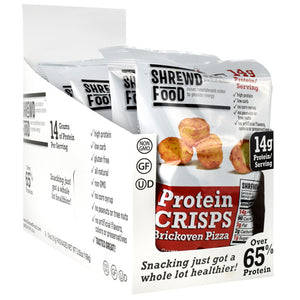 Shrewd Foods Protein Crisps Strawberries & Cream - Gluten Free
