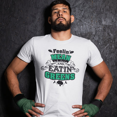 Image of Feeling Mean Eating Green's Premium Tee