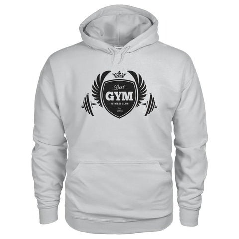 Image of Best Gym Hoodie - Ash Grey / S - Hoodies