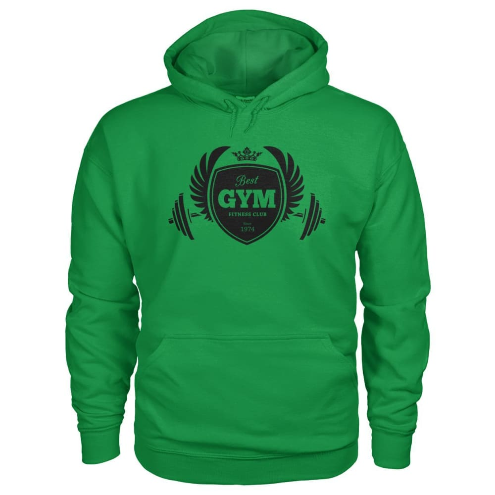 Best Gym Hoodie - Irish Green / S - Hoodies