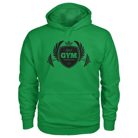 Image of Best Gym Hoodie - Irish Green / S - Hoodies
