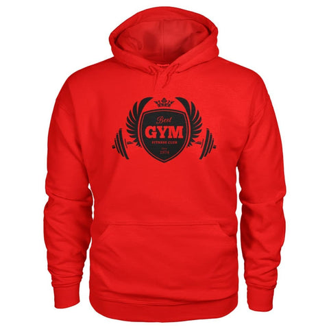 Image of Best Gym Hoodie - Red / S - Hoodies