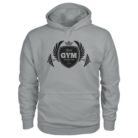 Image of Best Gym Hoodie - Sport Grey / S - Hoodies
