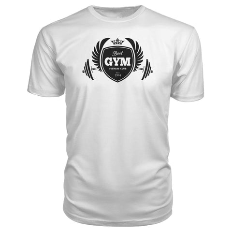 Image of Best Gym Premium Tee - White / S - Short Sleeves