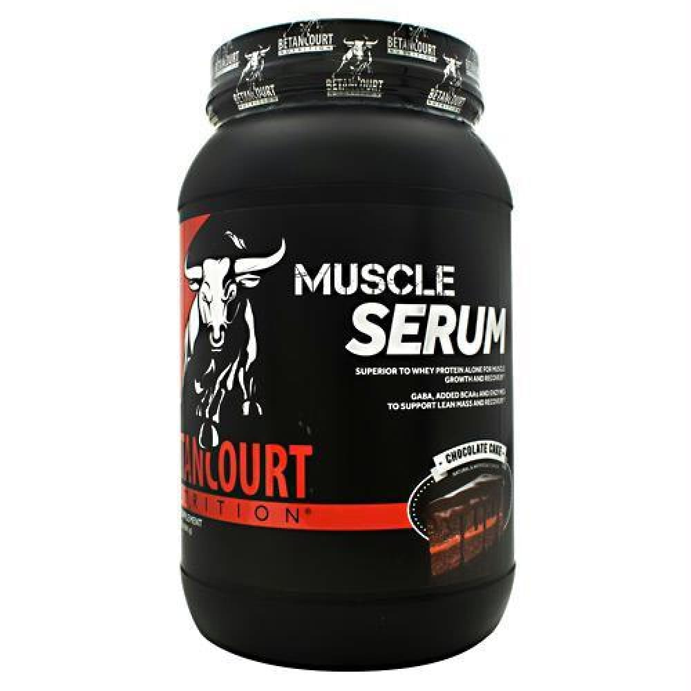 Betancourt Nutrition Muscle Serum Vanilla Cake Batter - Chocolate Cake / 2.07 lbs - Supplements