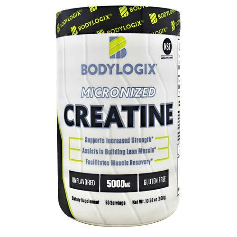 BodyLogix Micronized Creatine Unflavored - Gluten Free - Unflavored / 60 ea - Supplements