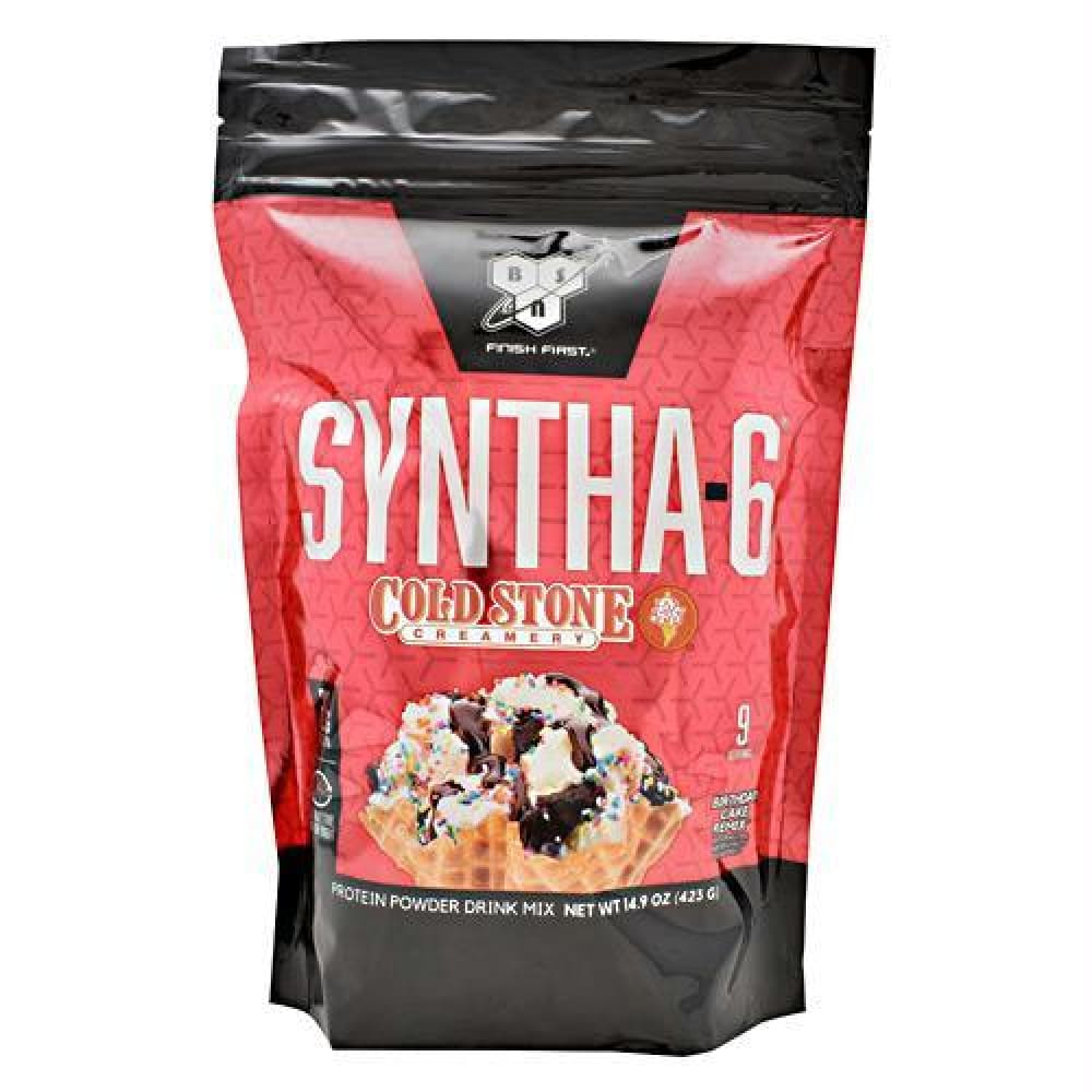 BSN Cold Stone Creamery Syntha-6 German Chokolate Kake - Birthday Cake Remix / 9 ea - Supplements
