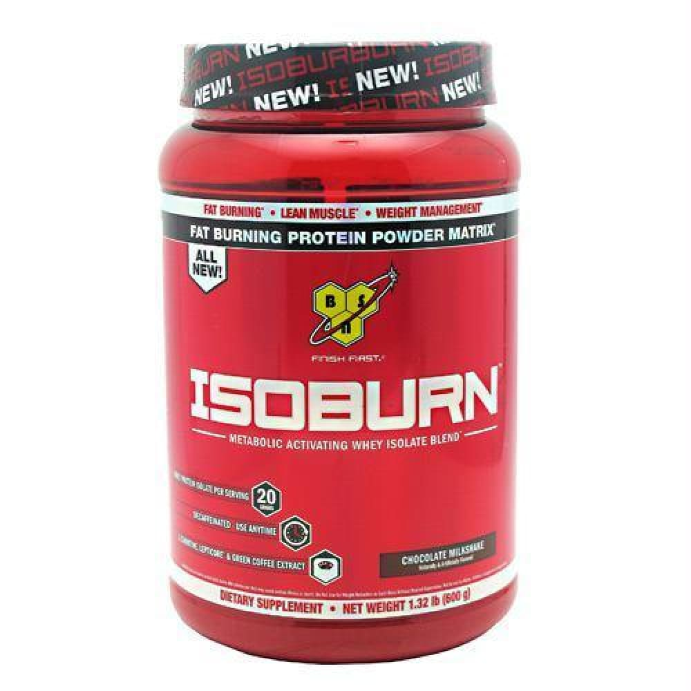 BSN Isoburn Strawberry Milkshake - Chocolate Milkshake / 1.32 lb - Supplements