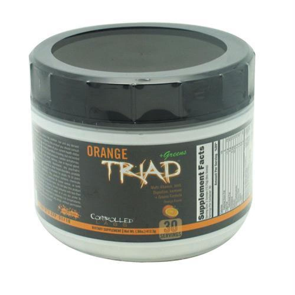 Controlled Labs Orange Triad + Greens Orange - Orange / 30 ea - Supplements