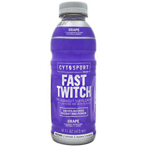 Cytosport Fast Twitch Grape - Grape / 12 ea - Supplements