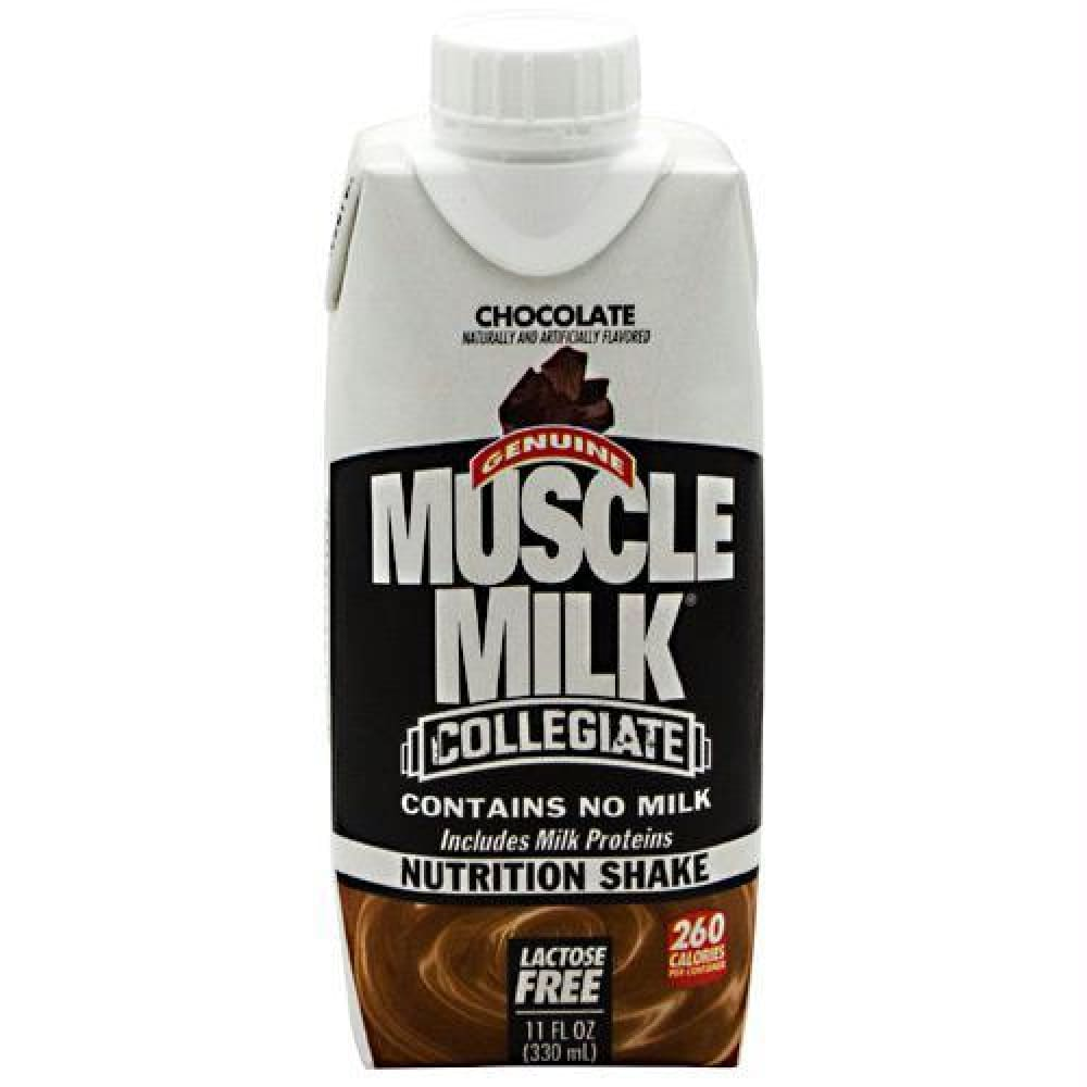 Cytosport Muscle Milk Collegiate Vanilla Creme - Chocolate / 12 ea - Drinks
