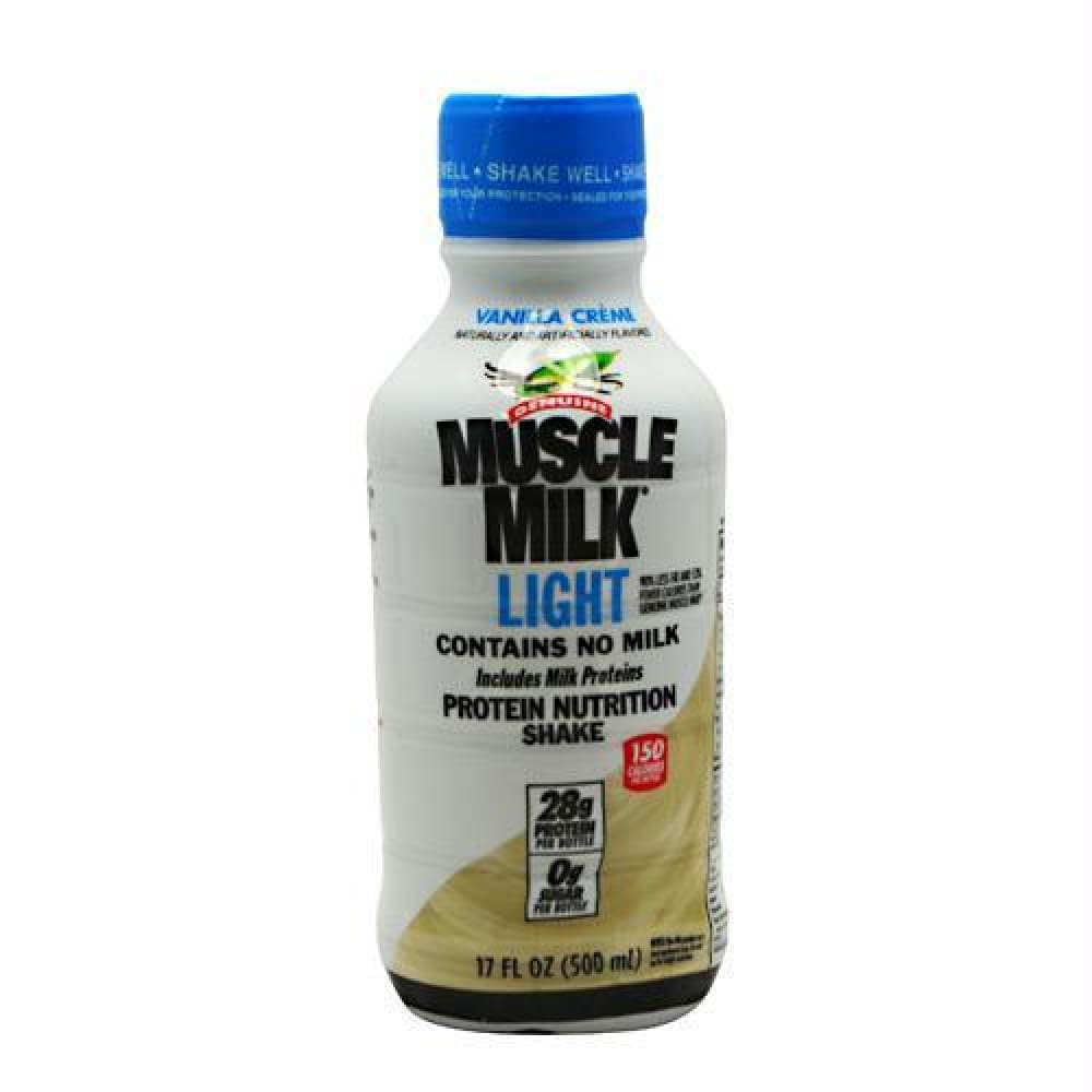 Cytosport Muscle Milk Light RTD Vanilla Creme - Gluten Free - Vanilla Creme / 12 ea - Drinks