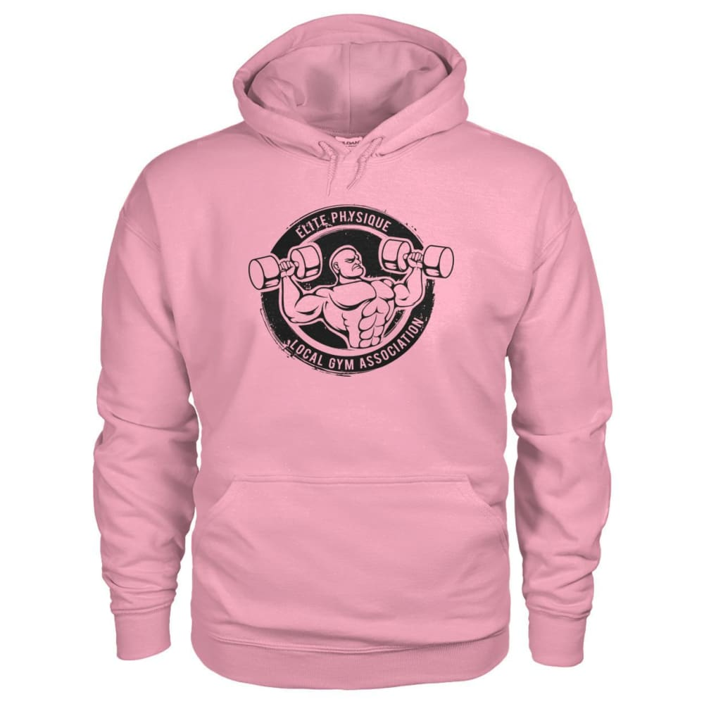 Elite Physique Hoodie - Classic Pink / S - Hoodies