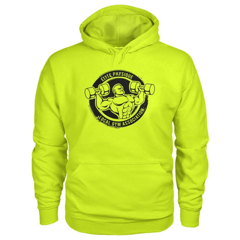 Image of Elite Physique Hoodie - Safety Green / S - Hoodies
