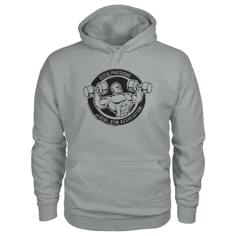 Image of Elite Physique Hoodie - Sport Grey / S - Hoodies