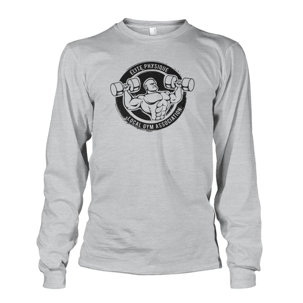 Elite Physique Long Sleeve - Ash Grey / S - Long Sleeves