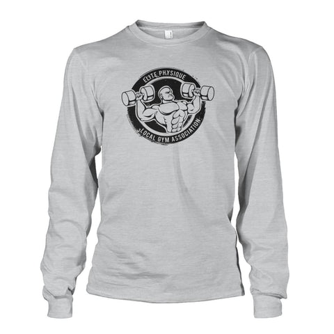 Image of Elite Physique Long Sleeve - Ash Grey / S - Long Sleeves