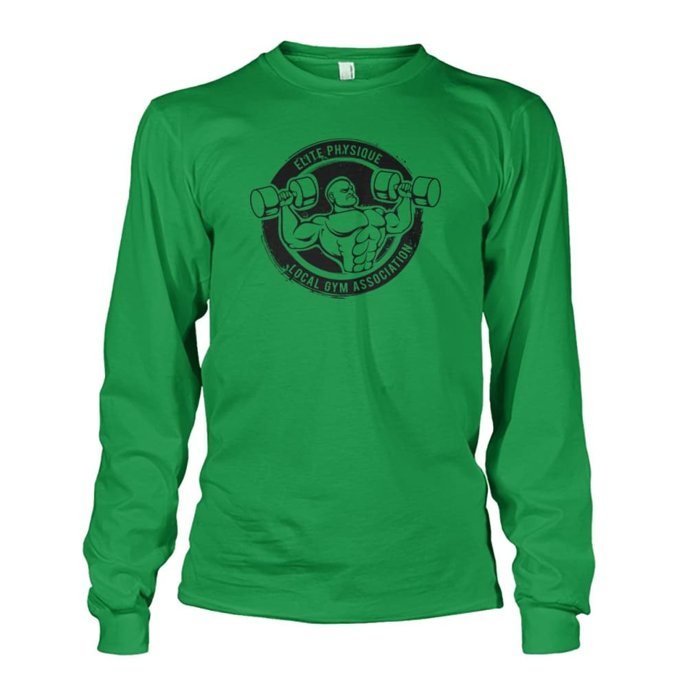 Elite Physique Long Sleeve - Irish Green / S - Long Sleeves