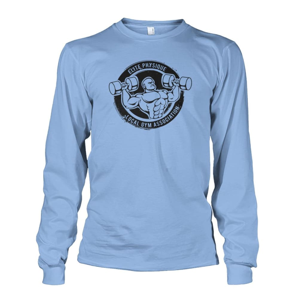 Elite Physique Long Sleeve - Light Blue / S - Long Sleeves