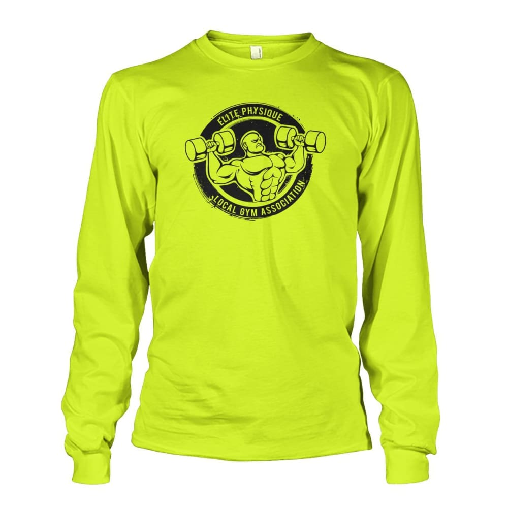 Elite Physique Long Sleeve - Safety Green / S - Long Sleeves
