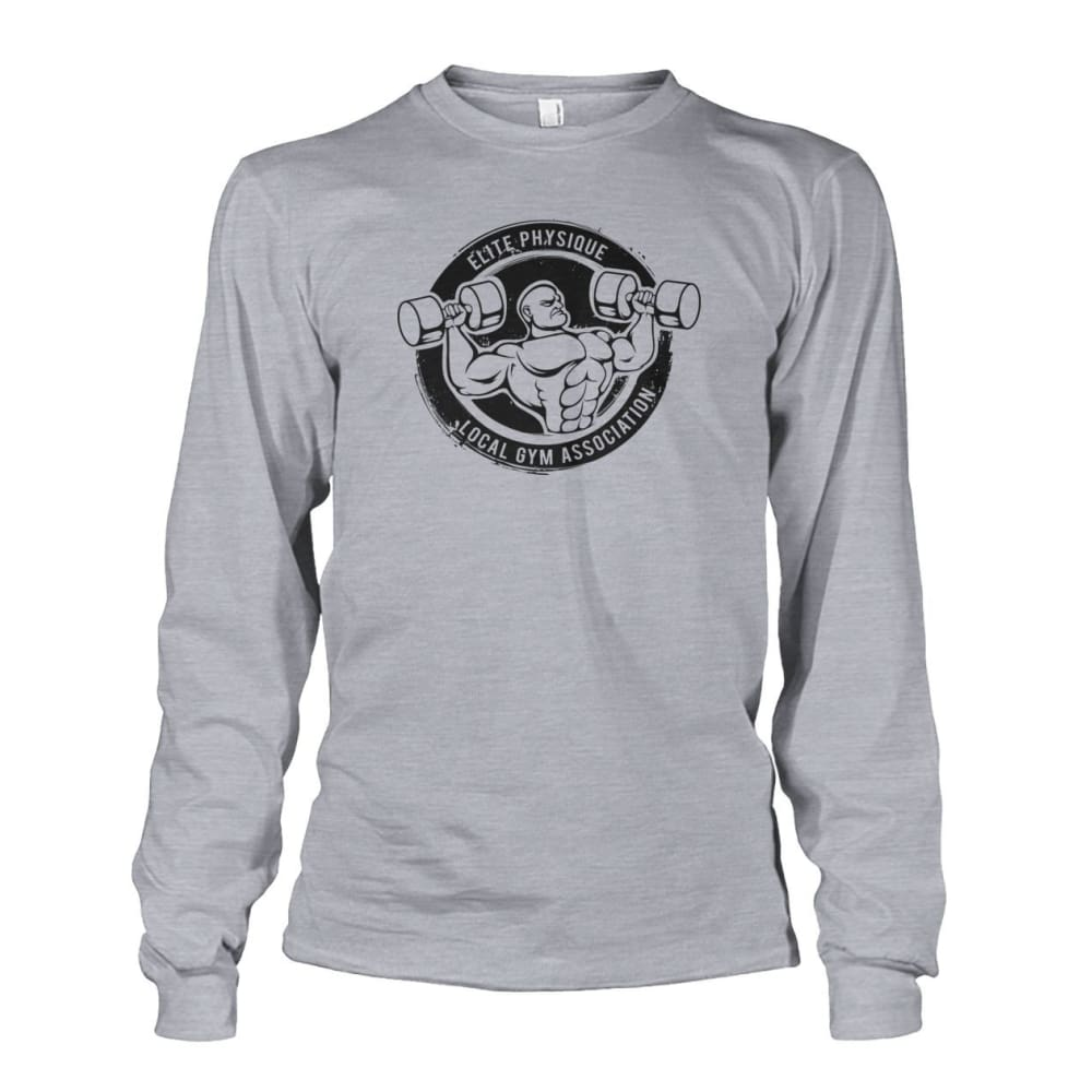 Elite Physique Long Sleeve - Sports Grey / S - Long Sleeves