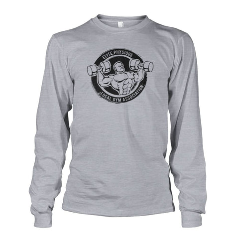 Image of Elite Physique Long Sleeve - Sports Grey / S - Long Sleeves