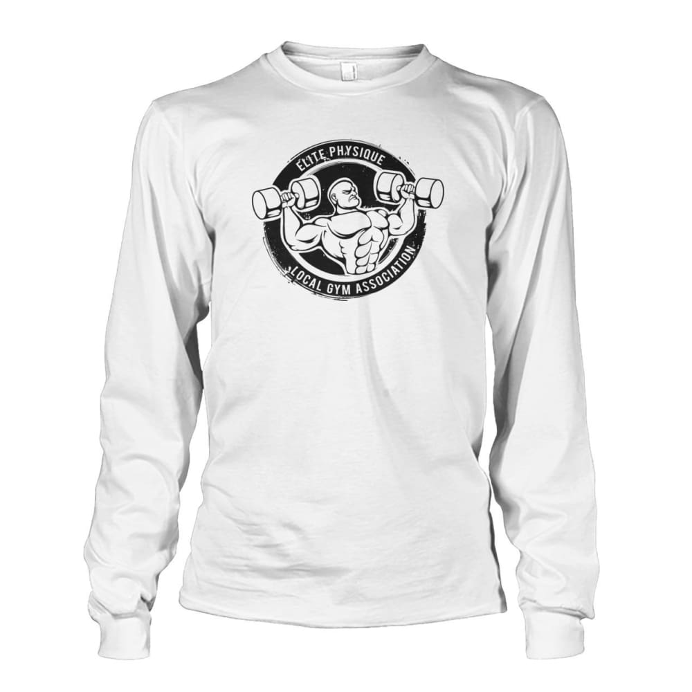 Elite Physique Long Sleeve - White / S - Long Sleeves