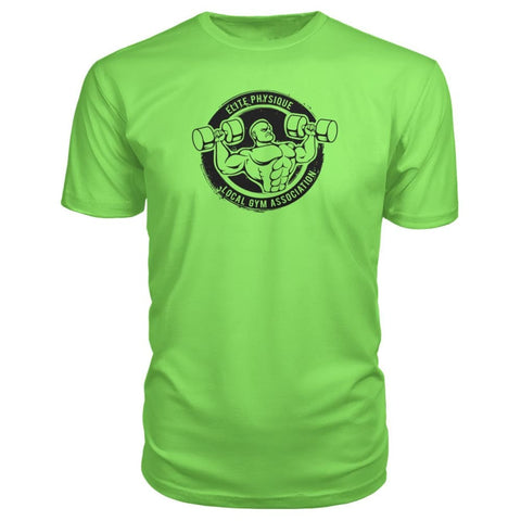Image of Elite Physique Premium Tee - Key Lime / S - Short Sleeves