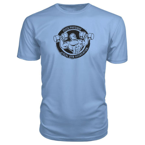 Image of Elite Physique Premium Tee - Light Blue / S - Short Sleeves