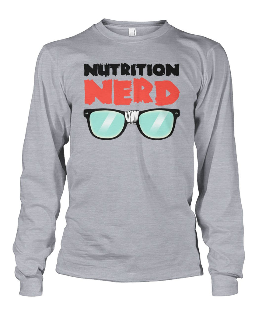 Nutrition Nerd Long Sleeve