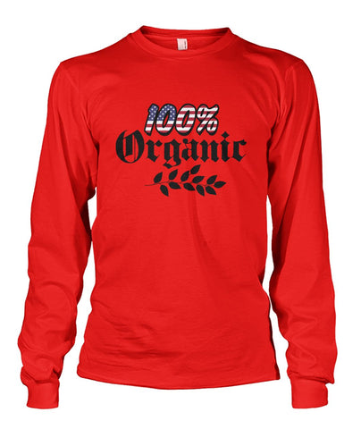 100% Organic Long Sleeve