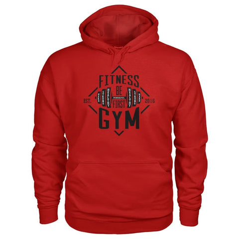 Image of Fitness Gym Hoodie - Cherry Red / S - Hoodies