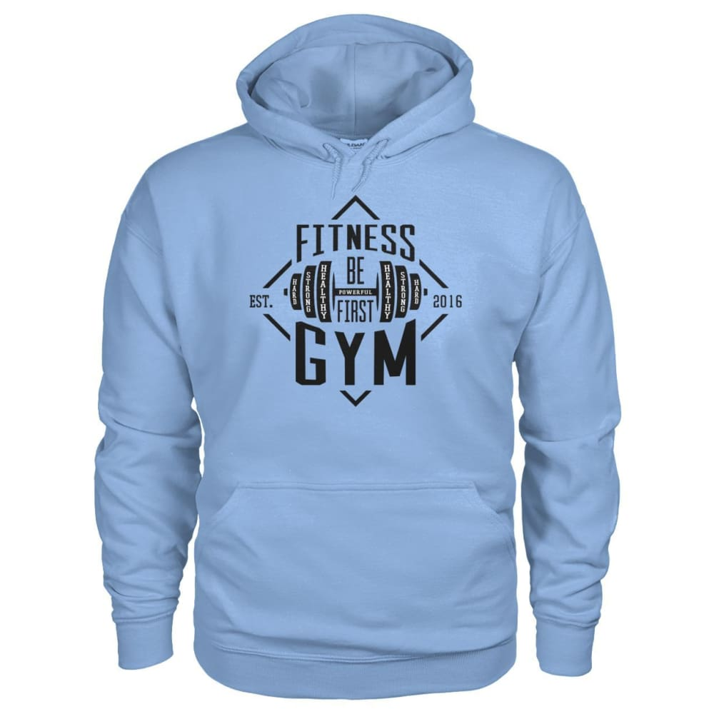 Fitness Gym Hoodie - Light Blue / S - Hoodies
