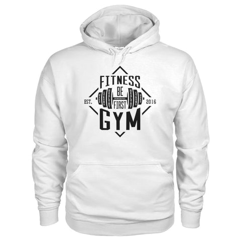Image of Fitness Gym Hoodie - White / S - Hoodies