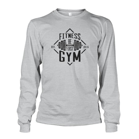 Image of Fitness Gym Long Sleeve - Ash Grey / S - Long Sleeves