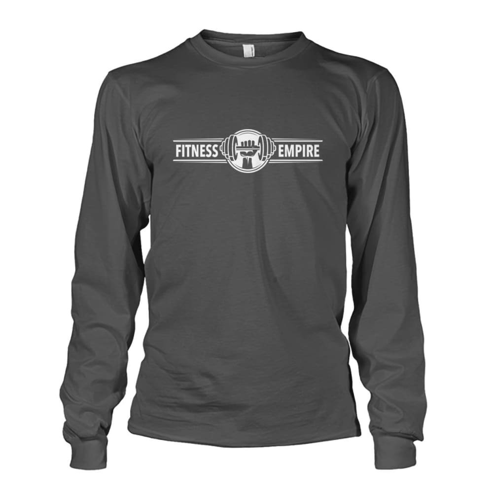 Gym Empire Long Sleeve - Charcoal / S - Long Sleeves