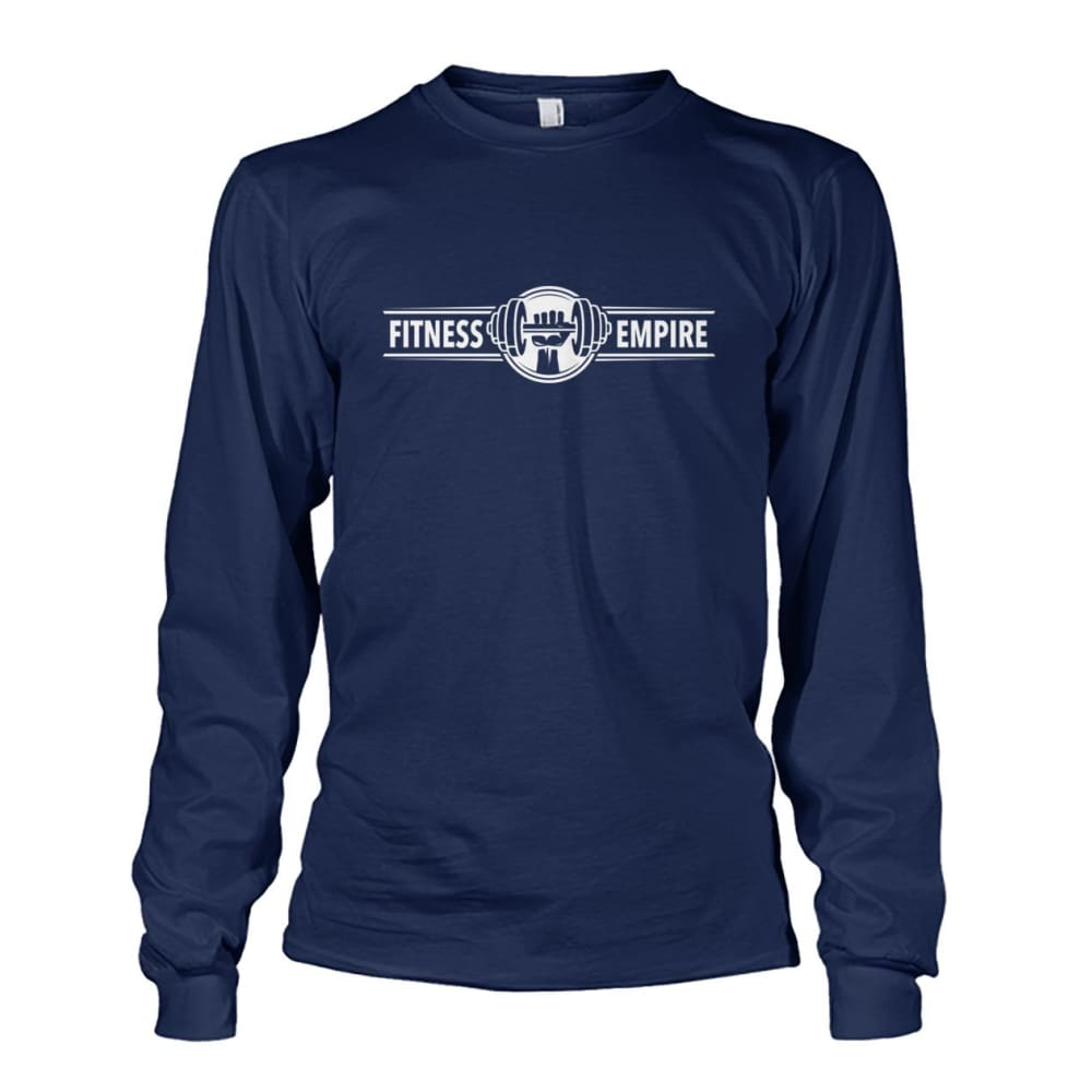 Gym Empire Long Sleeve - Navy / S - Long Sleeves